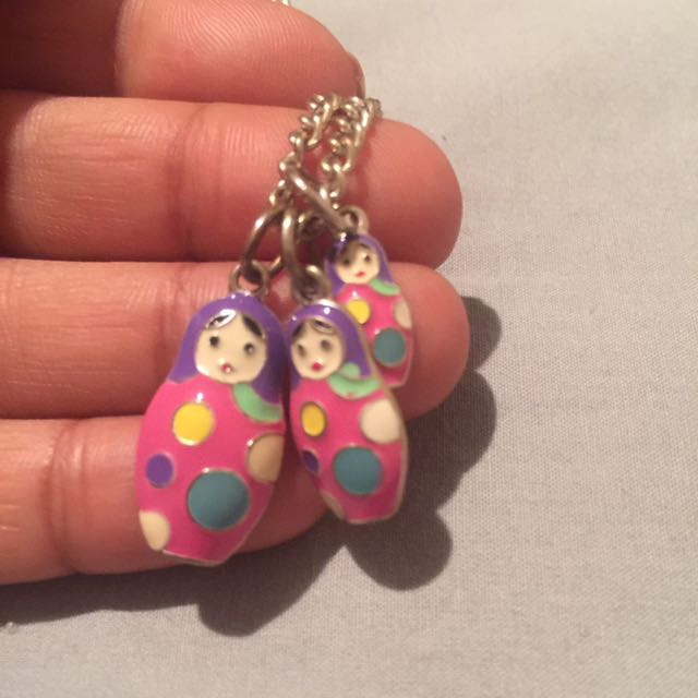 Cute Babushka Necklace