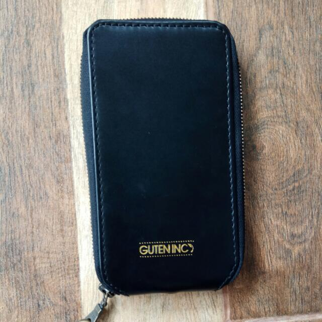 Wallet And Phone Leather case By Guten Inc