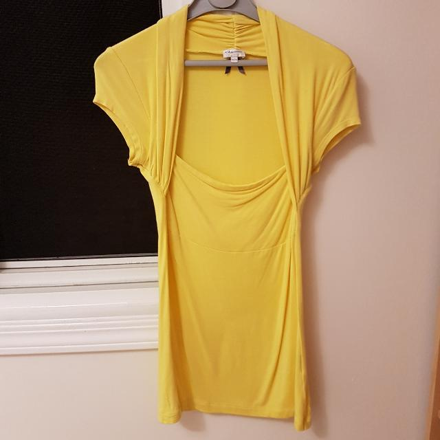 Dynamite Yellow Top