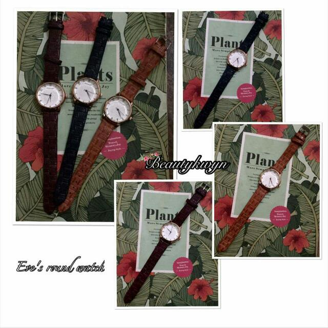 Eve Leather Watch