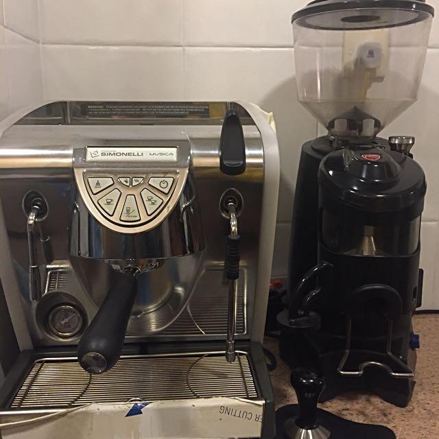 Expresso Coffee Machine & Grinder Set 家用咖啡機套裝