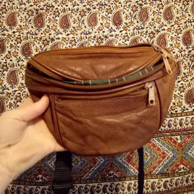 FESTIVAL FANNY PACK GENUINE LEATHER