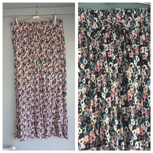 Just Jeans Floral Maxi Skirt 12