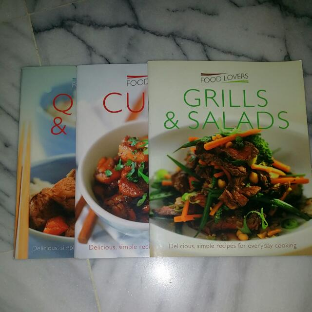 Allthingsnegotiables items for sale on carousell food lovers recipe book forumfinder Choice Image
