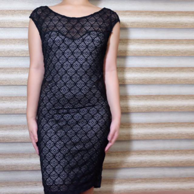 Forever21 Black Bodycon Dress