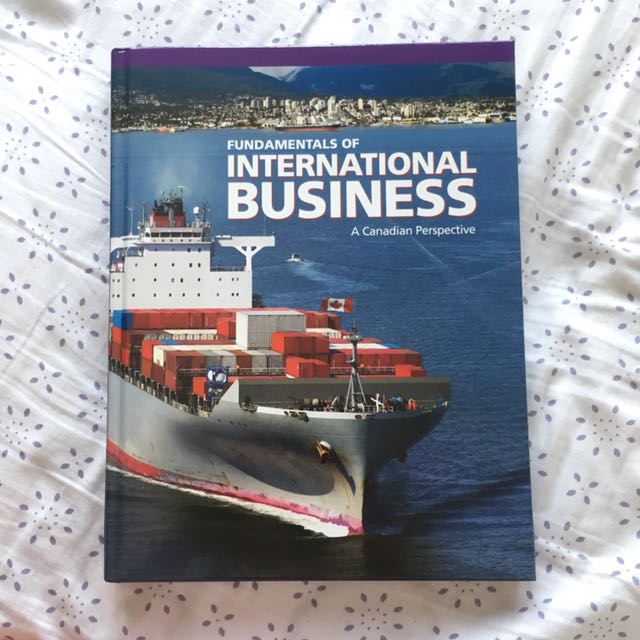 Fundamentals of Int. Business