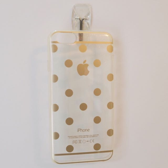 Gold Polkadot Case