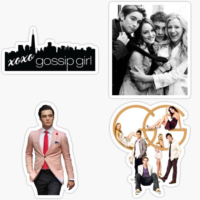 Gossip Girl Sticker