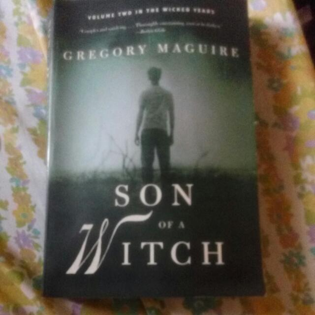 Gregory McGuire: Son Of A Witch Book