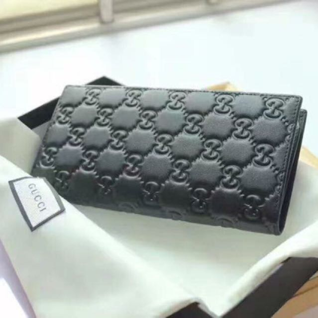 03172deb2525 GUCCI Signature long wallet Style 307774 CWC1R 1000