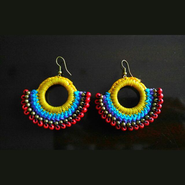 Handmade Earrings From Thailand