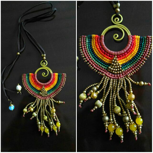 Handmade Necklace From Thailand