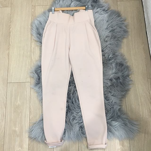 High waisted Blush Pants