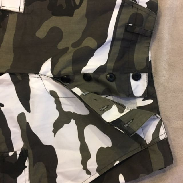 High Wasted Camo Pants