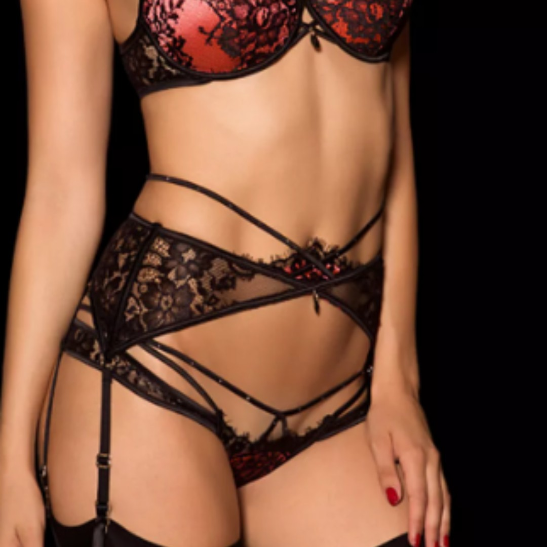 Honey birdette collette suspender
