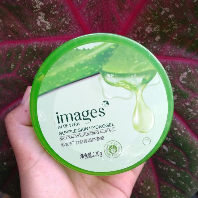 Images supple skin hydrogel aloe vera 92%