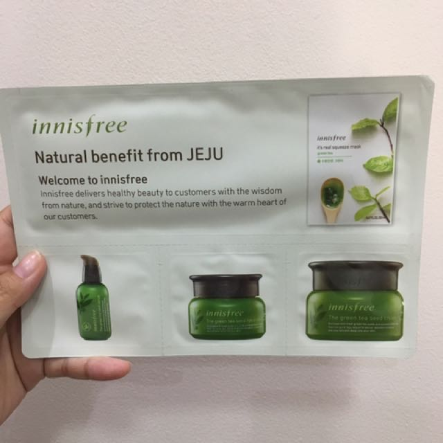 Innisfree Natural Benefit From Jeju