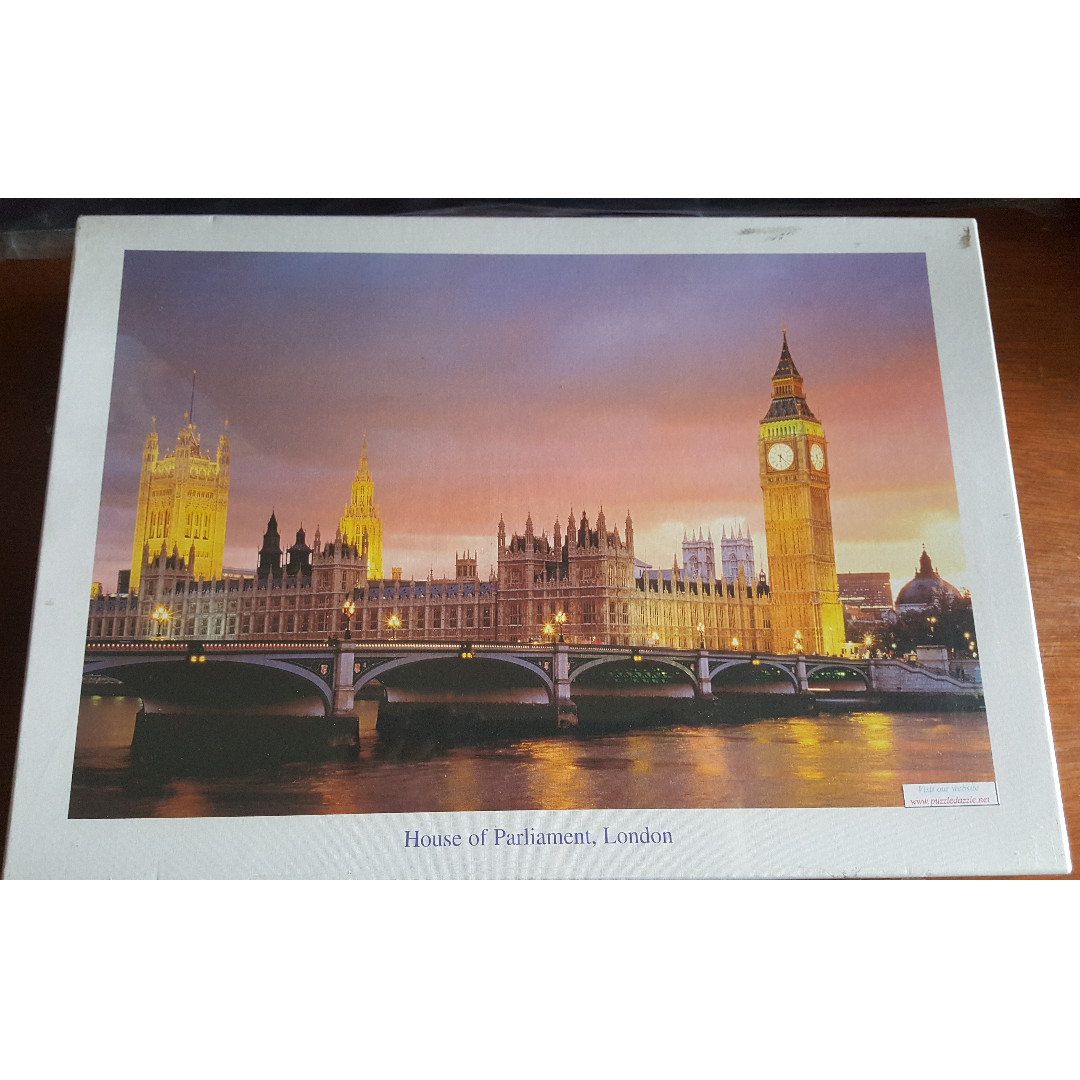 Jigsaw Puzzle - 1,000 Pieces - House of Parliament, London