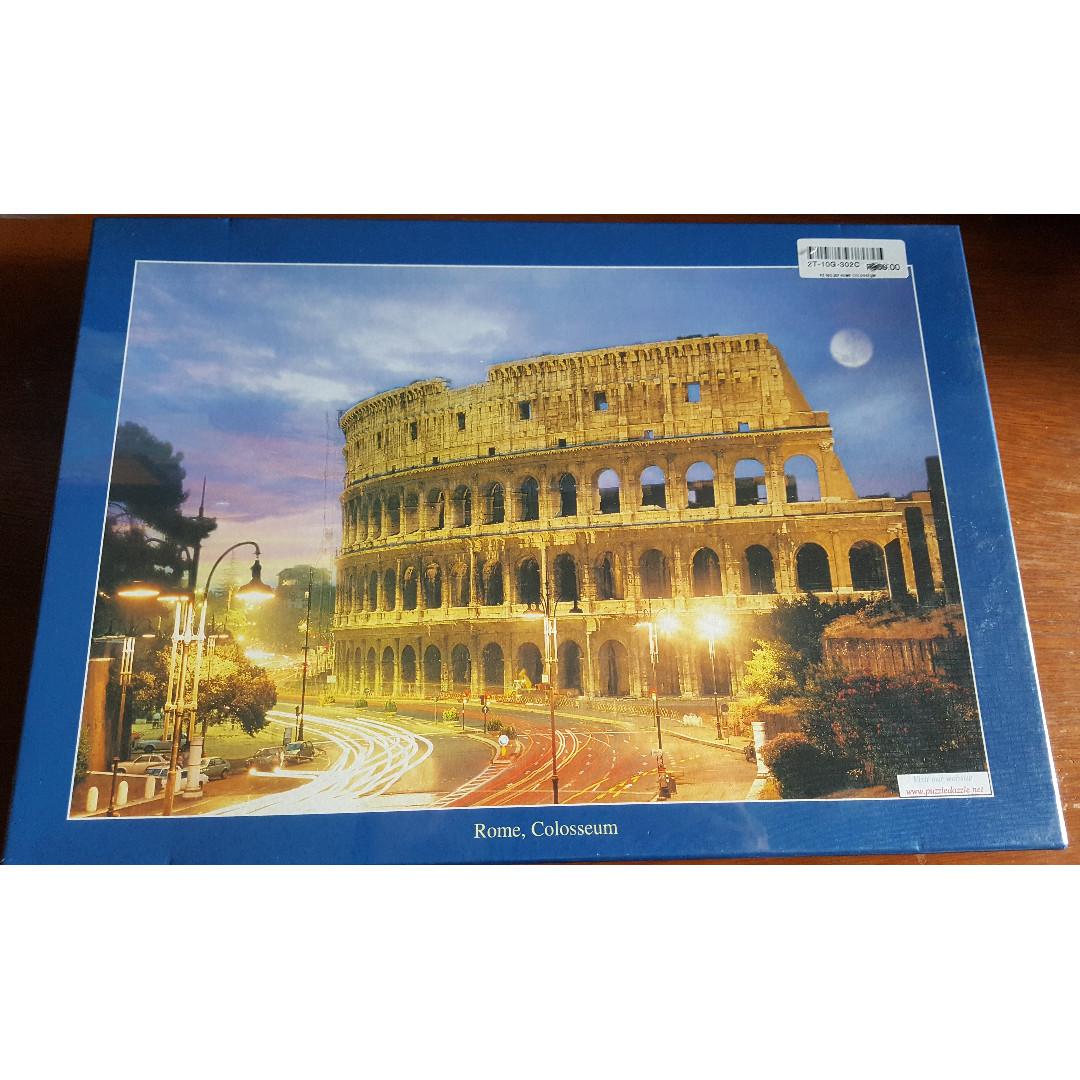 Jigsaw Puzzle - 1,000 Pieces - Rome, Colosseum