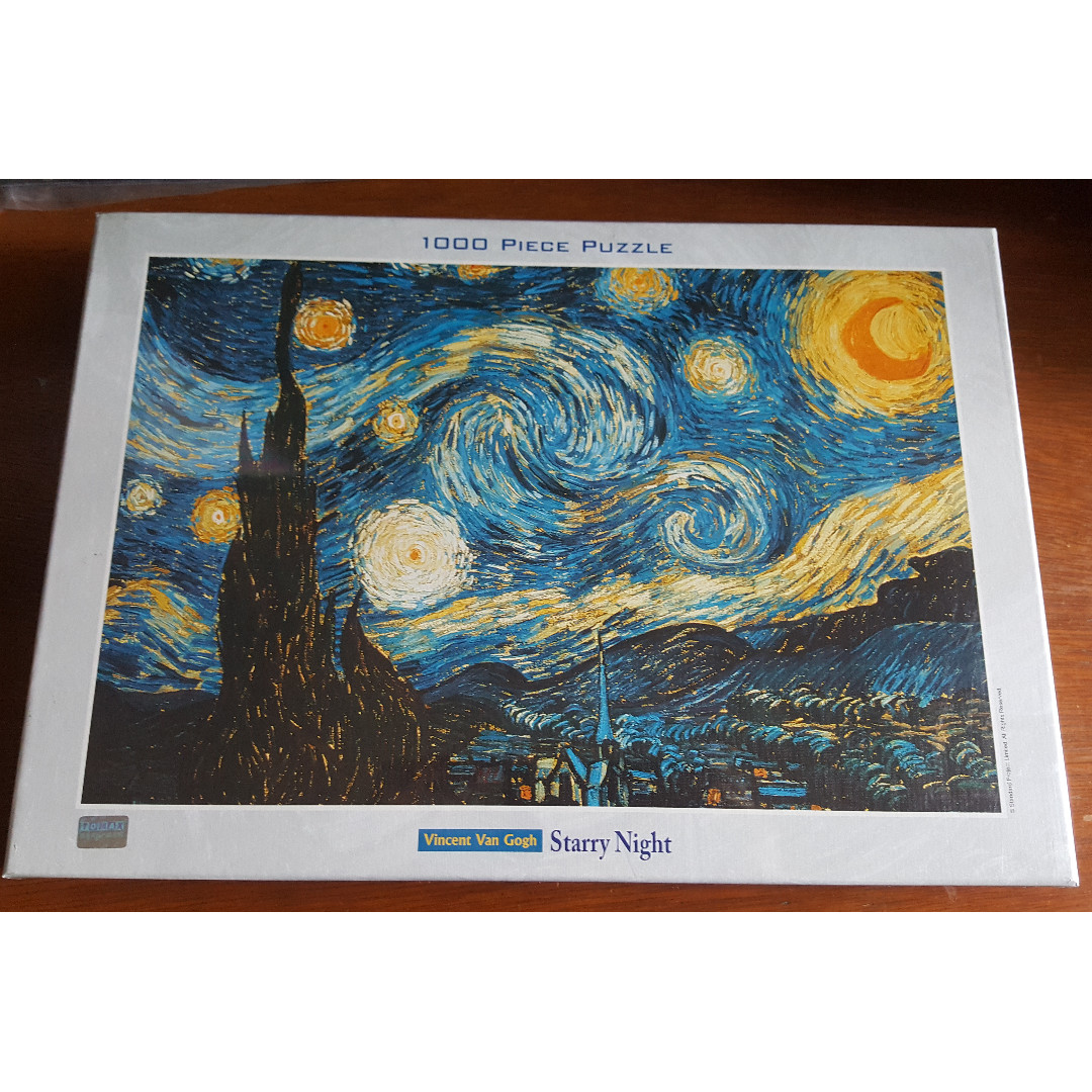 Jigsaw Puzzle - 1,000 Pieces - Starry Night by Vincent Van Gogh