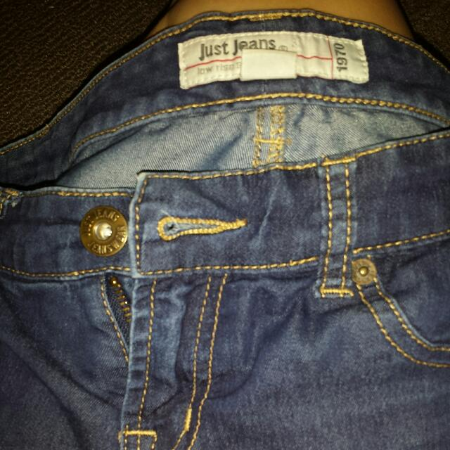 Just Jeans Low rise Secound Skin Jeggings