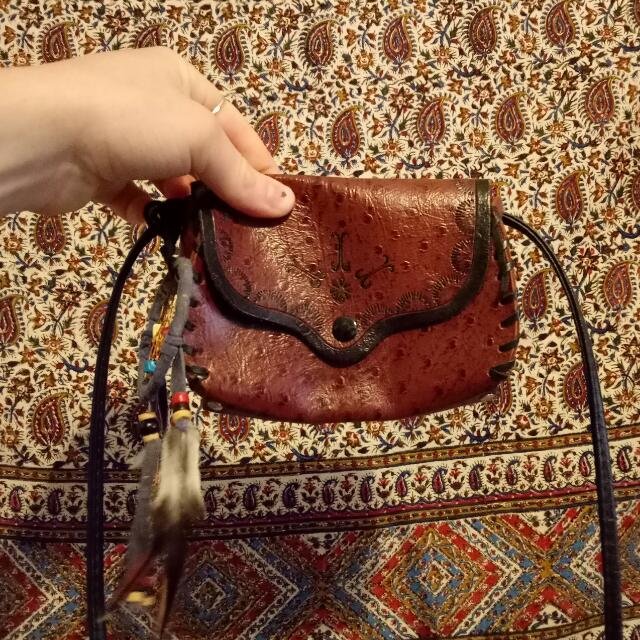 KANGAROO LEATHER BAG MADE IN AUS