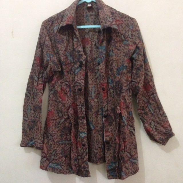 Kardigan Batik