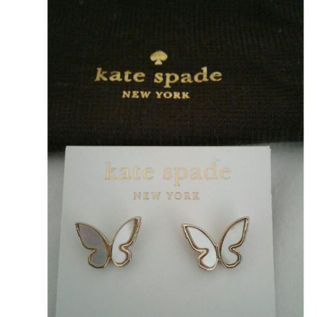 Kate Spade Butterfly Earrings