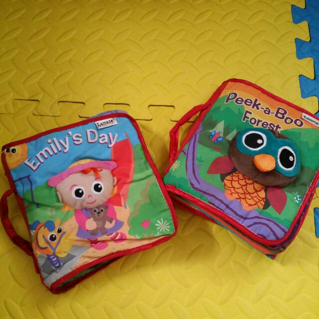 Lamaze Cloth Books