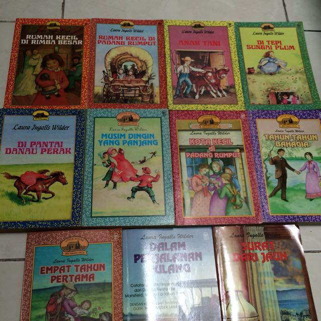 Little House in The Prairie Complete 11 Volume