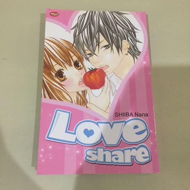 love share - shiba nana