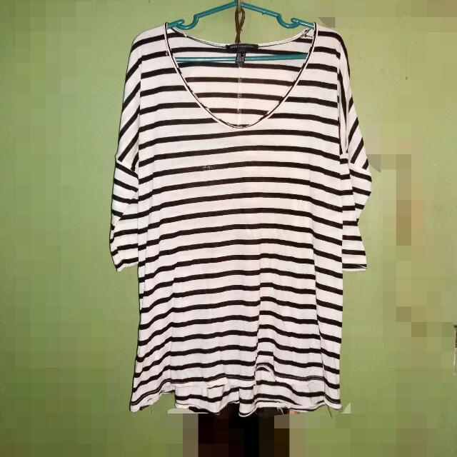 MANGO stripes Pullover