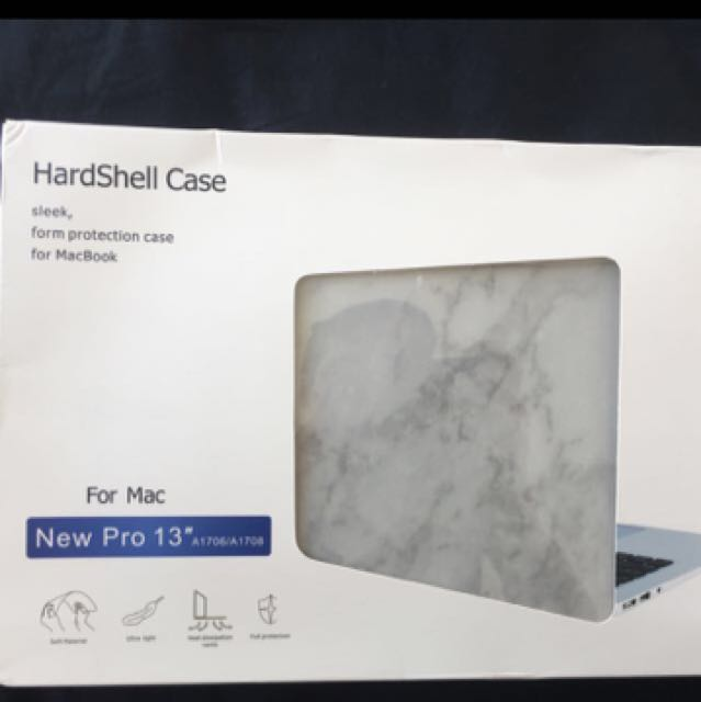 Marble MacBook Hard case