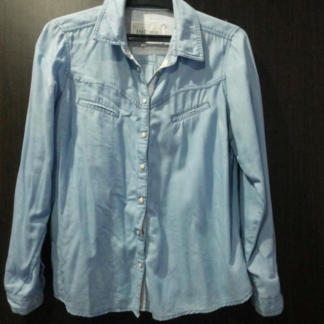 Marks and Spencer denim shirt