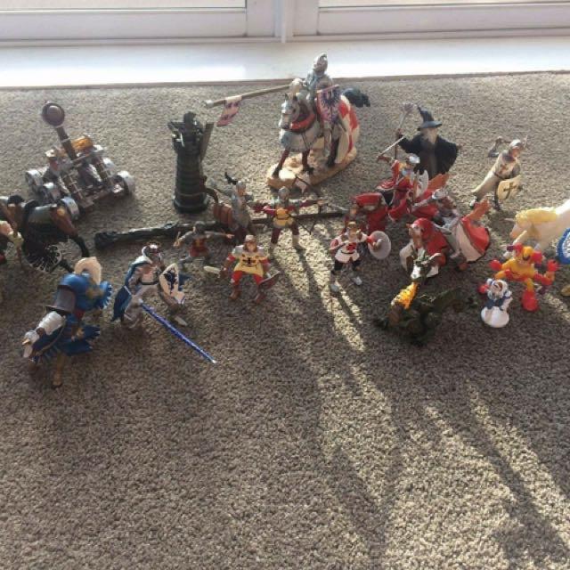 Midevil Figurines