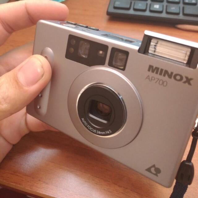 Minox  Ap700 使用aps底片 復古相機