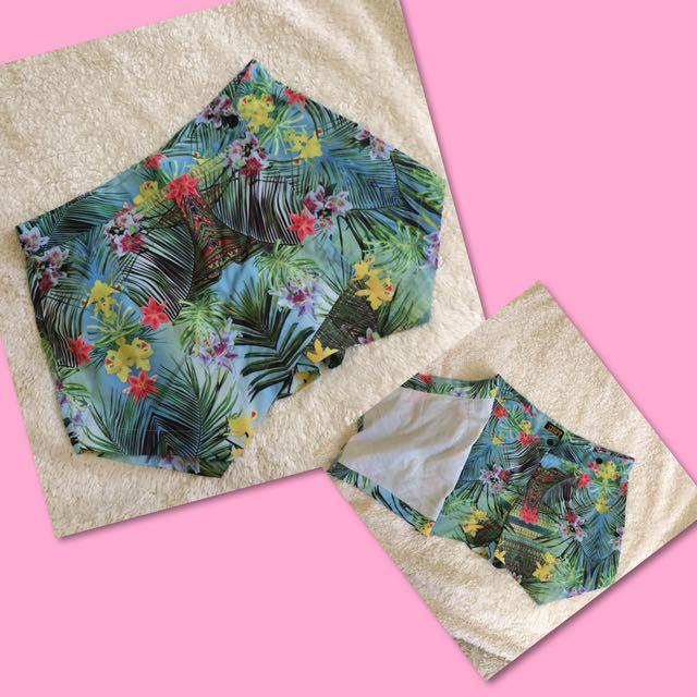 MINT origami shorts plus freebie ☺️