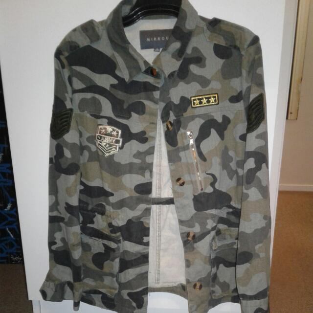 Mirrou Camo Jacket.