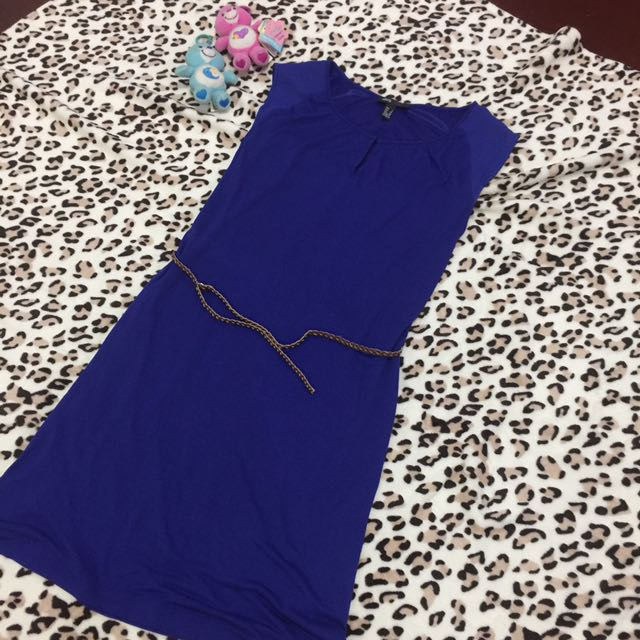 MNG Elegant Blue Dress