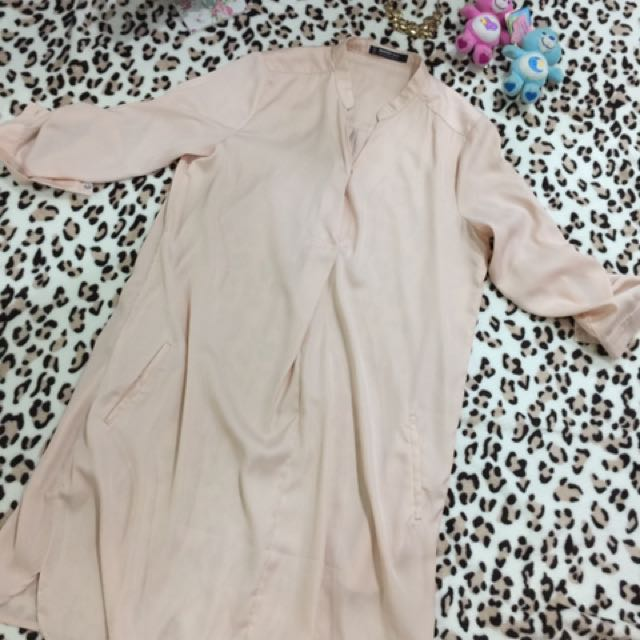 MNG Peach Dress