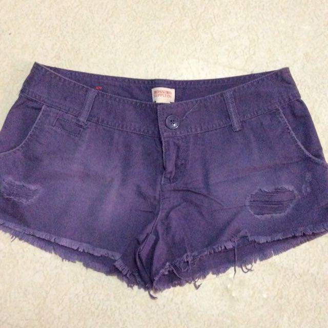 mossimo purple short