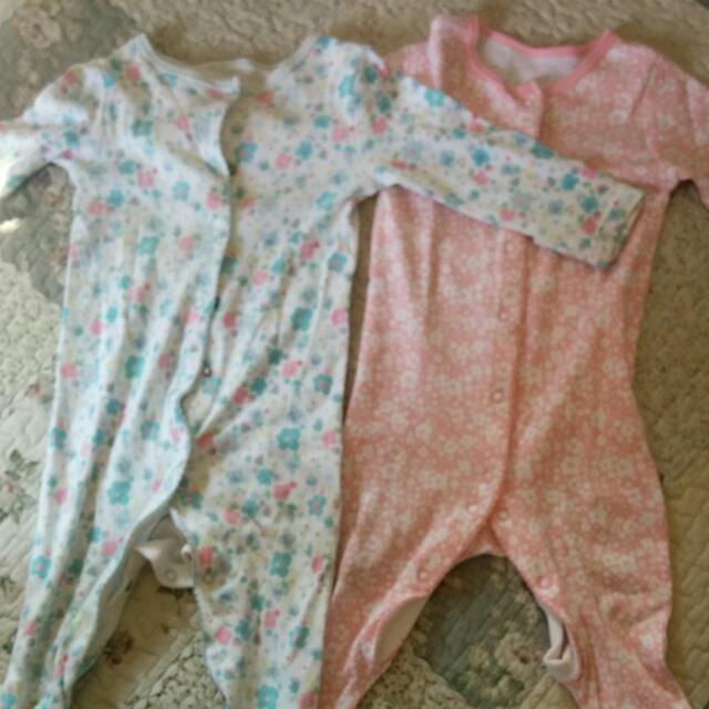 Mothercare Sleeping Suits