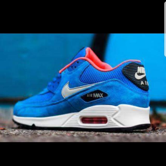 Nike Air Max 90 Essential dark electric blue/light stone