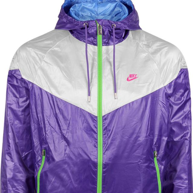 Nike Windbreaker Purple Grey