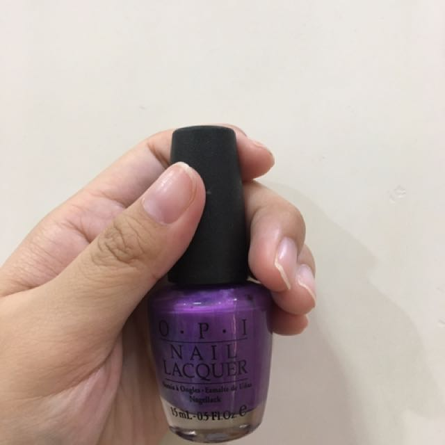 OPI Nail Polish in Purple with a Purpose (NEW!!)
