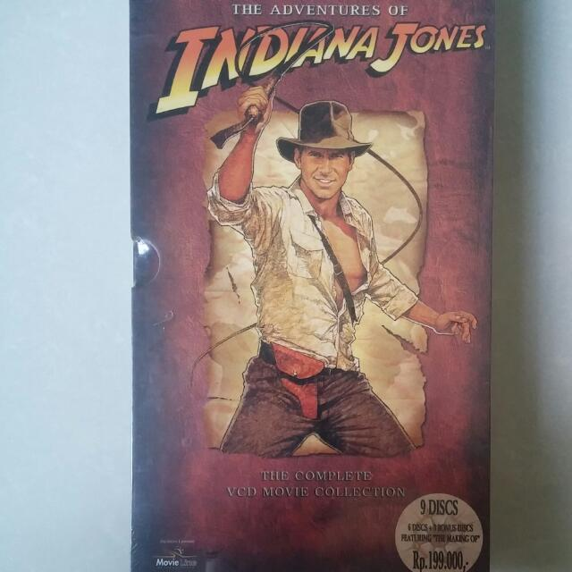 DVD original - Indiana Jones