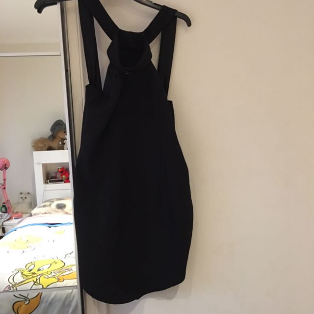 Popcherry Dress Black