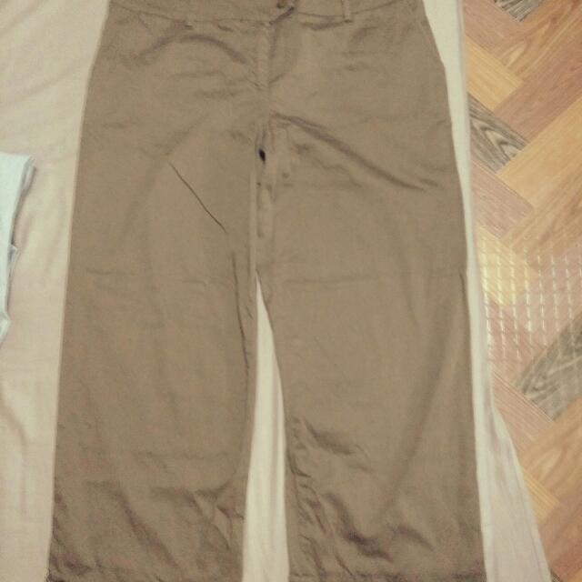 Plus Size Square Pants
