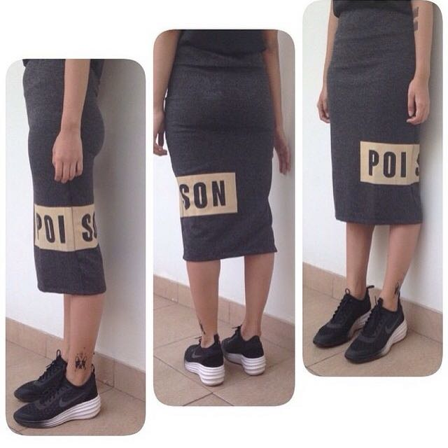 Poison skirt by PINX