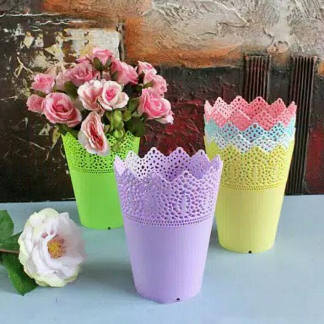 Pot Flowers Shabby